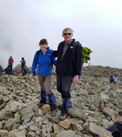 2018 05 Mary Pete Scafell Pike